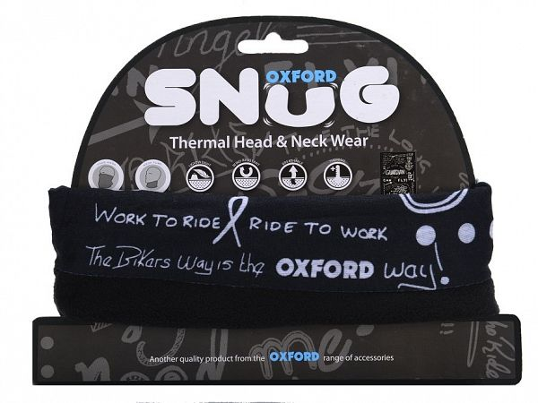 Oxford Snug Graffiti Mono Throat Tube
