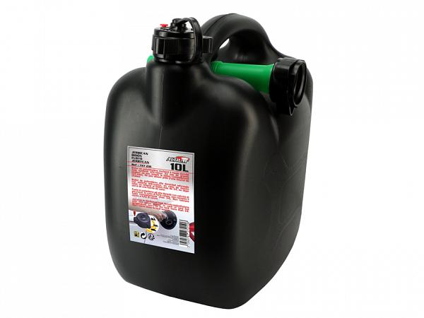 Petrol can 10L, black