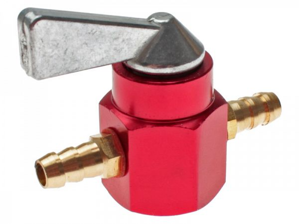 Petrol tap - red