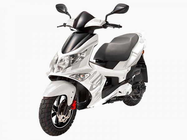 PGO G-Max - white - 30 km / h