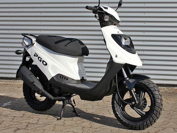 PGO Hot50 kampagne - hvid - 30km/t