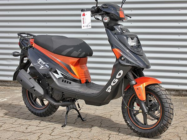 PGO Hot50 SP - Copper / Black - 30 km / h