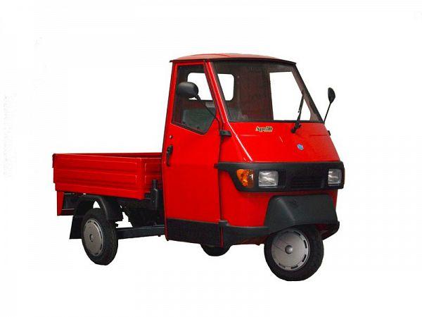 Piaggio Ape Pickup - rød - 25 km/t