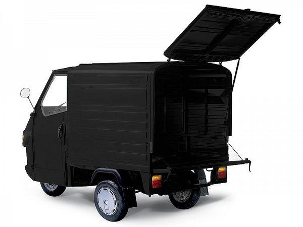 Piaggio Ape Van - sort - 25km/t