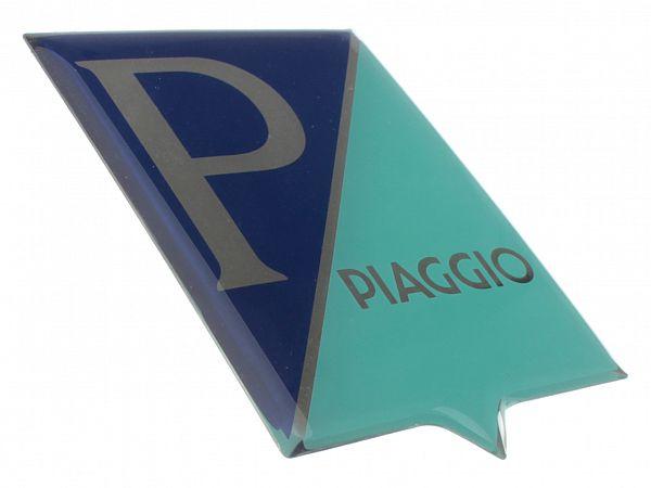 Piaggio logo, firkantet - originalt
