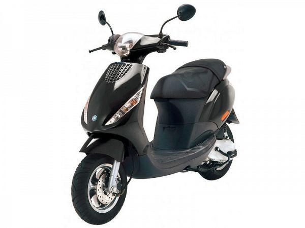 Piaggio New Zip 2-takt - sort - 30km/t