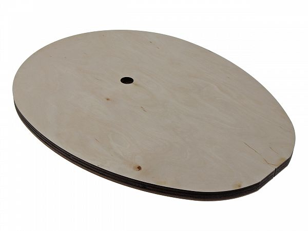 Plate for installations in helmet rooms - Zoot