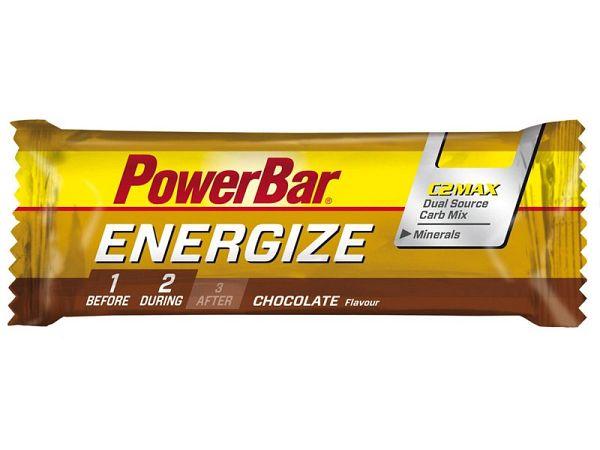 PowerBar Energize Chocolate Energibar, 55g (Udløb: Dec. 2018)