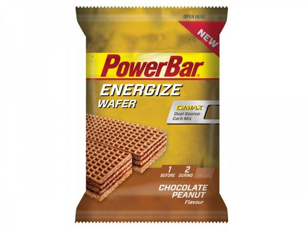PowerBar Energize Wafer Chocolate Peanut Energibar