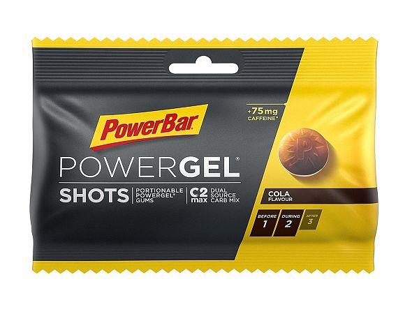 PowerBar PowerGel Caffeine Cola Vingummier, 9 stk