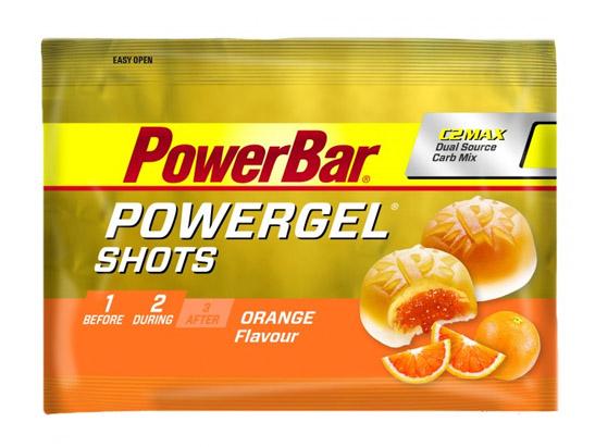 PowerBar Powergel Shots Orange/Appelsin Vingummi, 60g