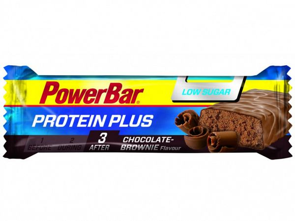 PowerBar Protein Plus Chocolate-Brownie Proteinbar, 35g
