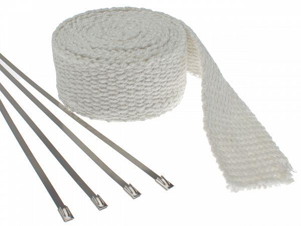 Powerwrap - NoEnd - 3 meter inkl. spændebånd - hvid