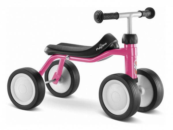 Puky PUKYlino Løbecykel, fra 75 cm, pink