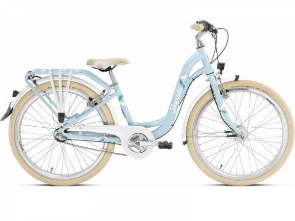 Puky Skyride 24-3 ALU light blå - Pigecykel - 2019