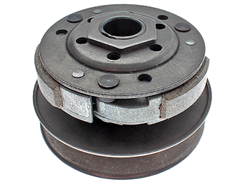 Pulleys incl. clutch