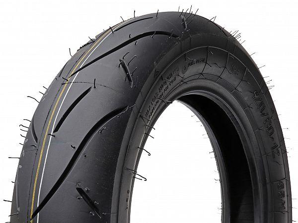Racing tires - Heidenau K80R SRS2, soft - 120 / 80-12