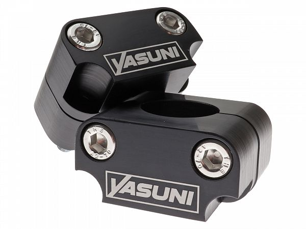 Raiser kit for handlebars - Yasuni Pro Race 22 -> 28.6mm, black