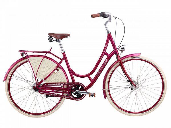 Raleigh Classic de Luxe Plus rød - Damecykel - 2016