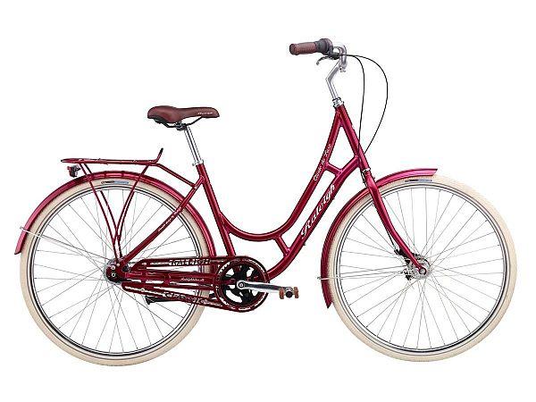 Raleigh Classic de Luxe rød - 2016, 47cm (Udstillingsmodel)