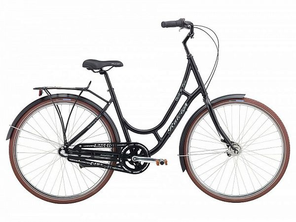 Raleigh Classic de Luxe sort - Damecykel - 2016