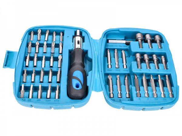 Ratchet wrench set - 45 parts