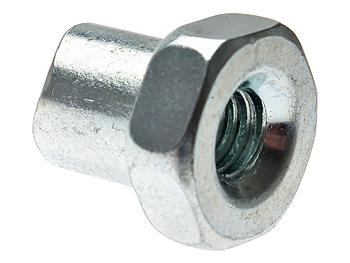 Rear brake cable adjustment screw (M6x23)