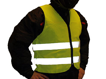 Reflective vest - adult - one-size