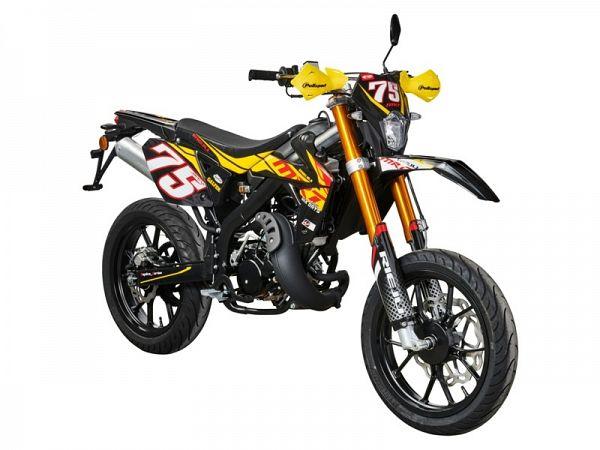 Rieju MRT Pro 50 - yellow / black - 30 km / h