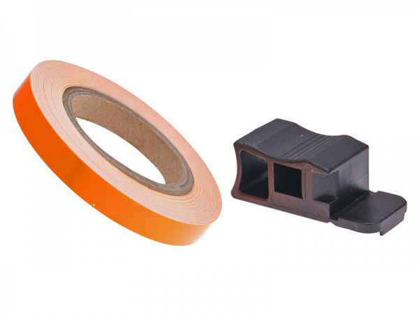 Rim band 7 x 6000mm - neon orange