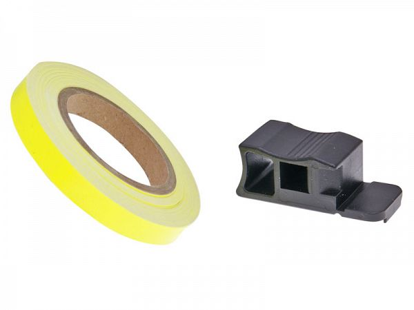 Rim band 7 x 6000mm - neon yellow