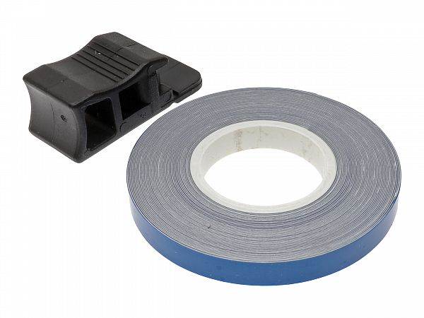 Rim tape 7 x 6000mm - Oxford - blue reflecting