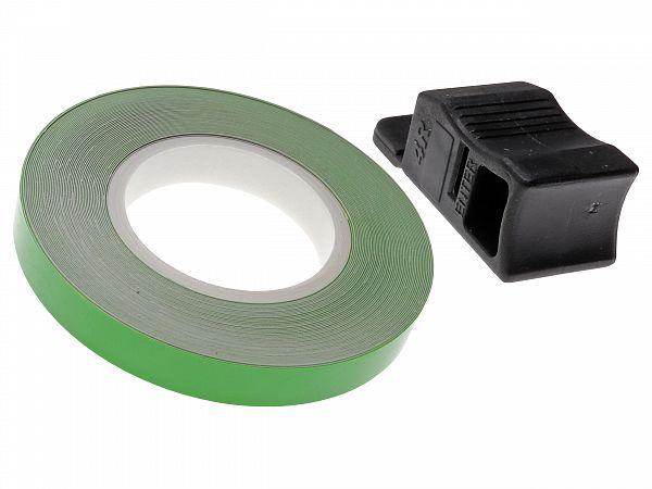 Rim tape 7 x 6000mm - Oxford - neon green