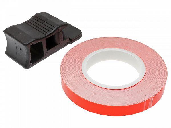 Rim tape 7 x 6000mm - Oxford - neon orange