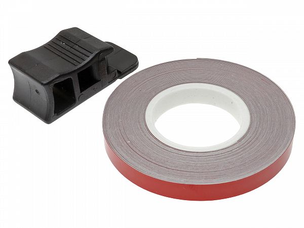 Rim tape 7 x 6000mm - Oxford - red reflecting