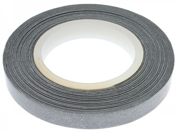 Rim tape 7 x 6000mm - silver reflector