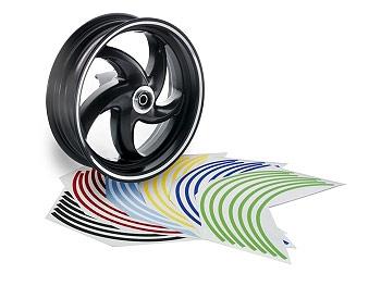 Rim tape - Opticparts - chrome