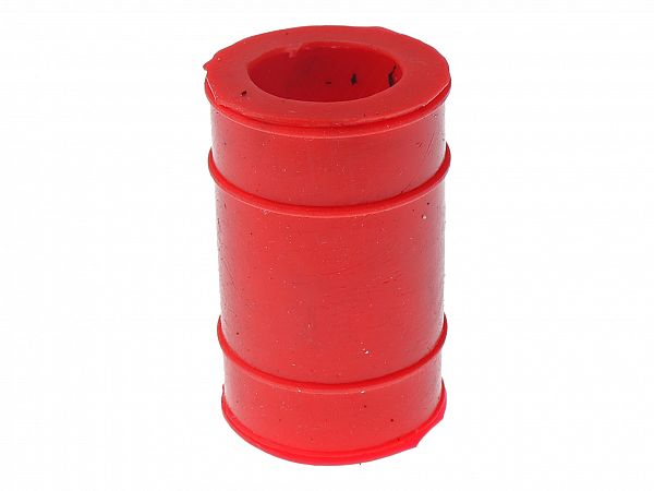 Rubber transition to muffler - Voca, red