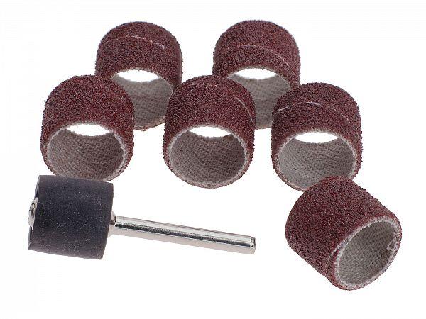 Sanding head for air grinder, ø12.7 mm - 7 pcs