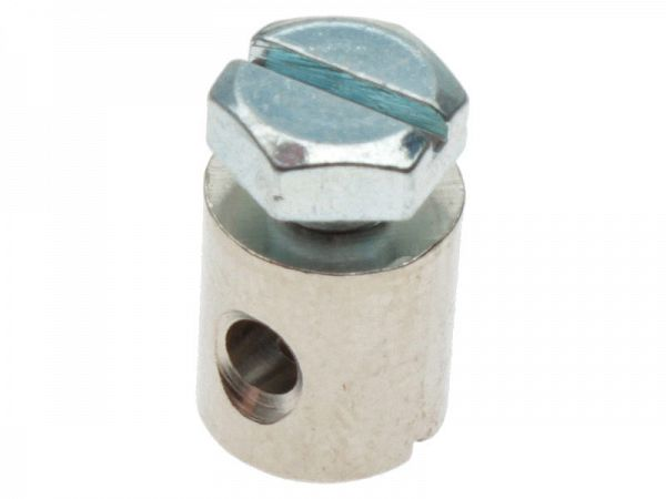 Screw nipple for cable ø2.5 - 8x9mm