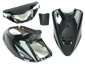 Shield set - Black, 4 parts