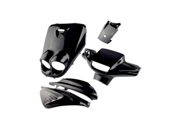 Shield set - Black, 5 parts