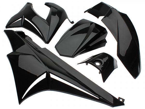 Shield set - Black, 7 parts - TNT