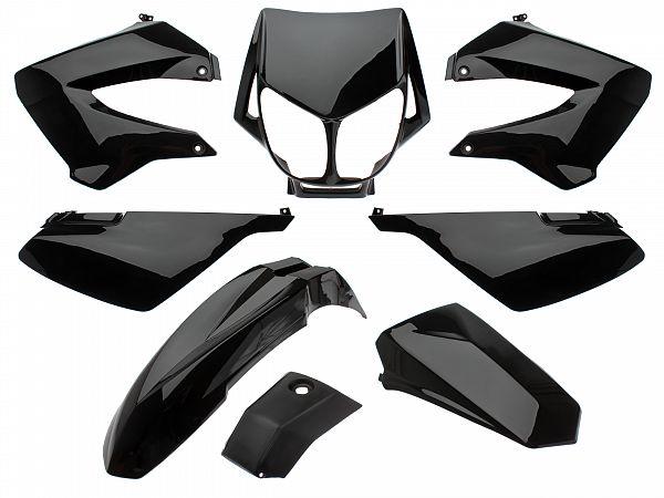 Shield set - Black, 8 parts - Zoot