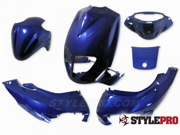 Shield set - Blue, 6 parts