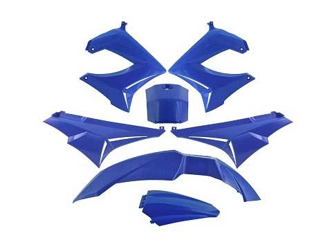 Shield set - Blue, 7 parts - TNT
