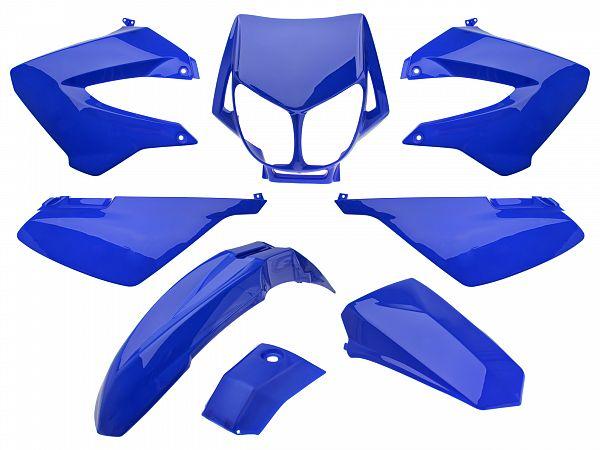 Shield set - Blue, 8 parts - Zoot