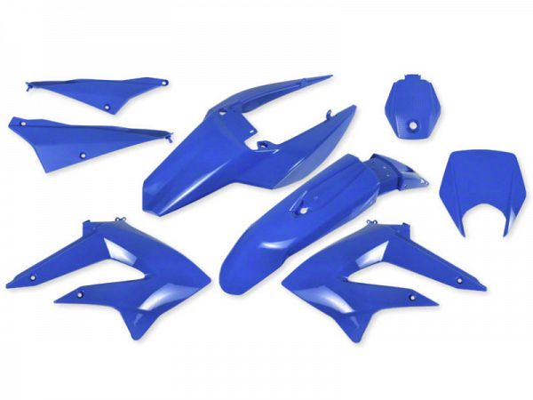 Shield set - Blue, 8 parts