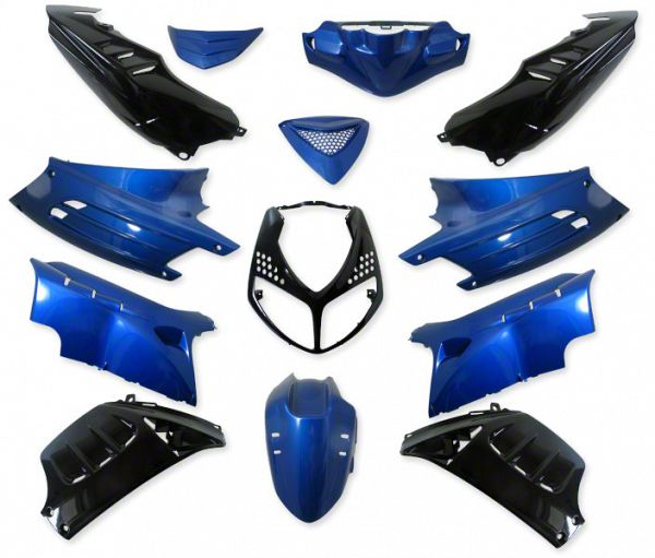 Shield set - Blue / black, 13 parts