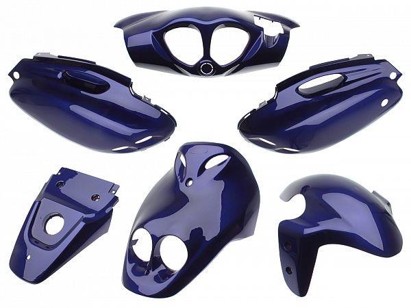 Shield set - Blue-purple, 6 parts